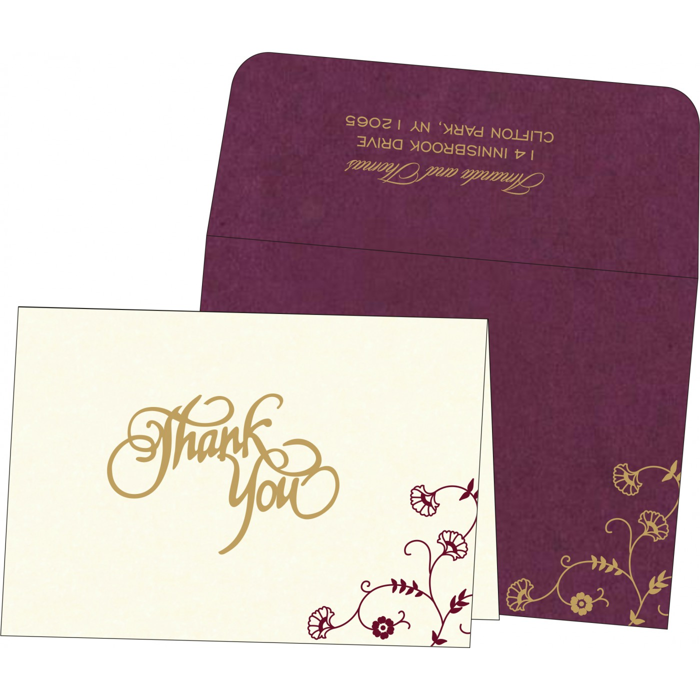Thank You Cards - TYC-8248H