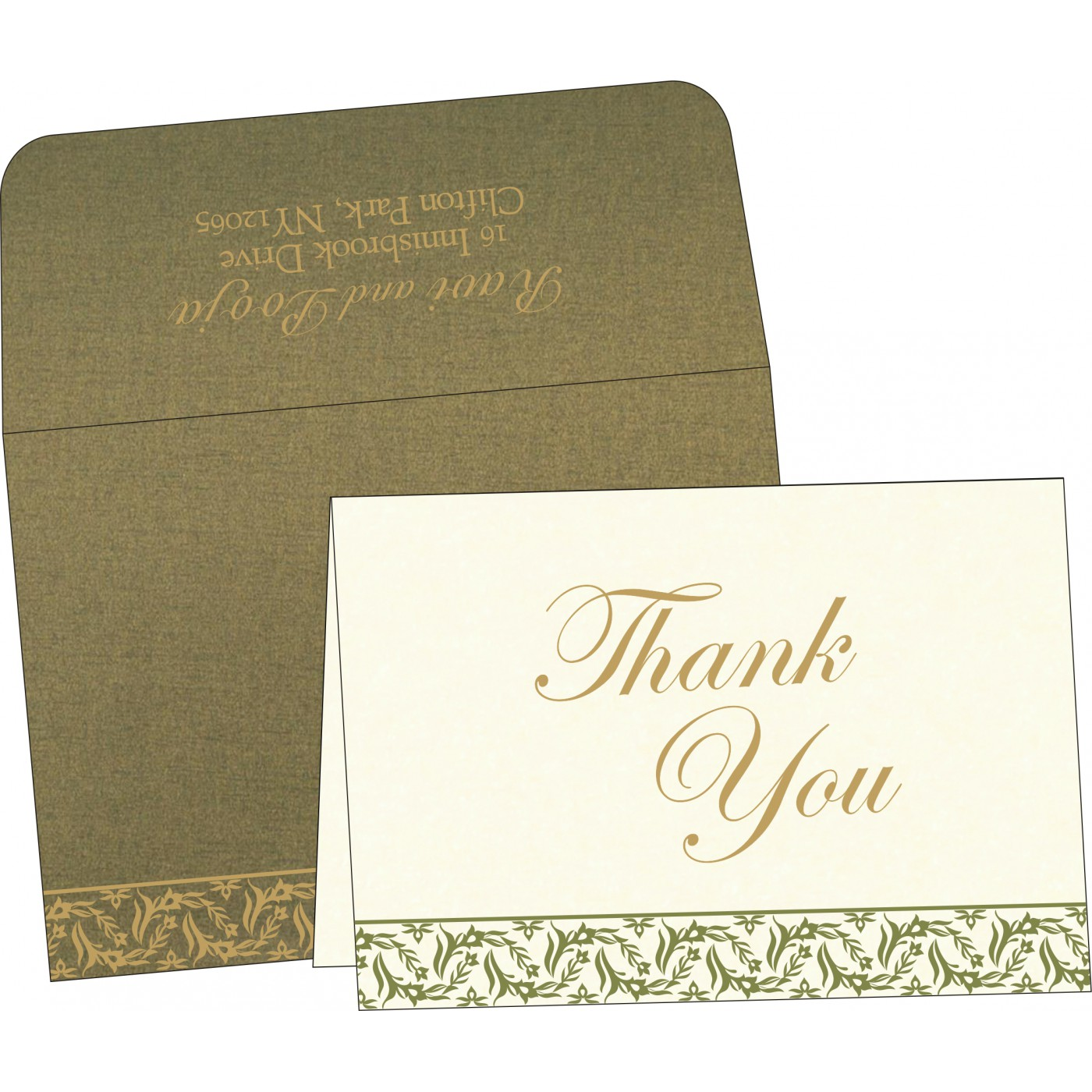 Thank You Cards - TYC-8249E