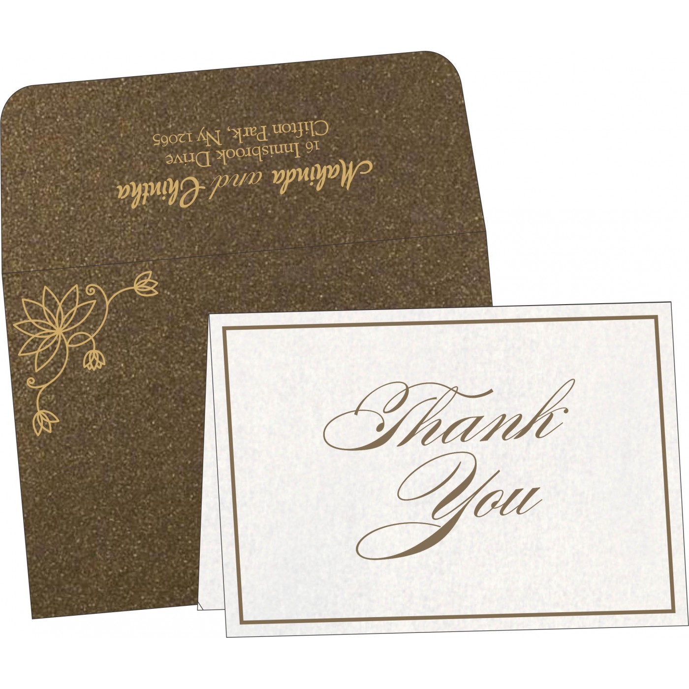 Thank You Cards - TYC-8251F
