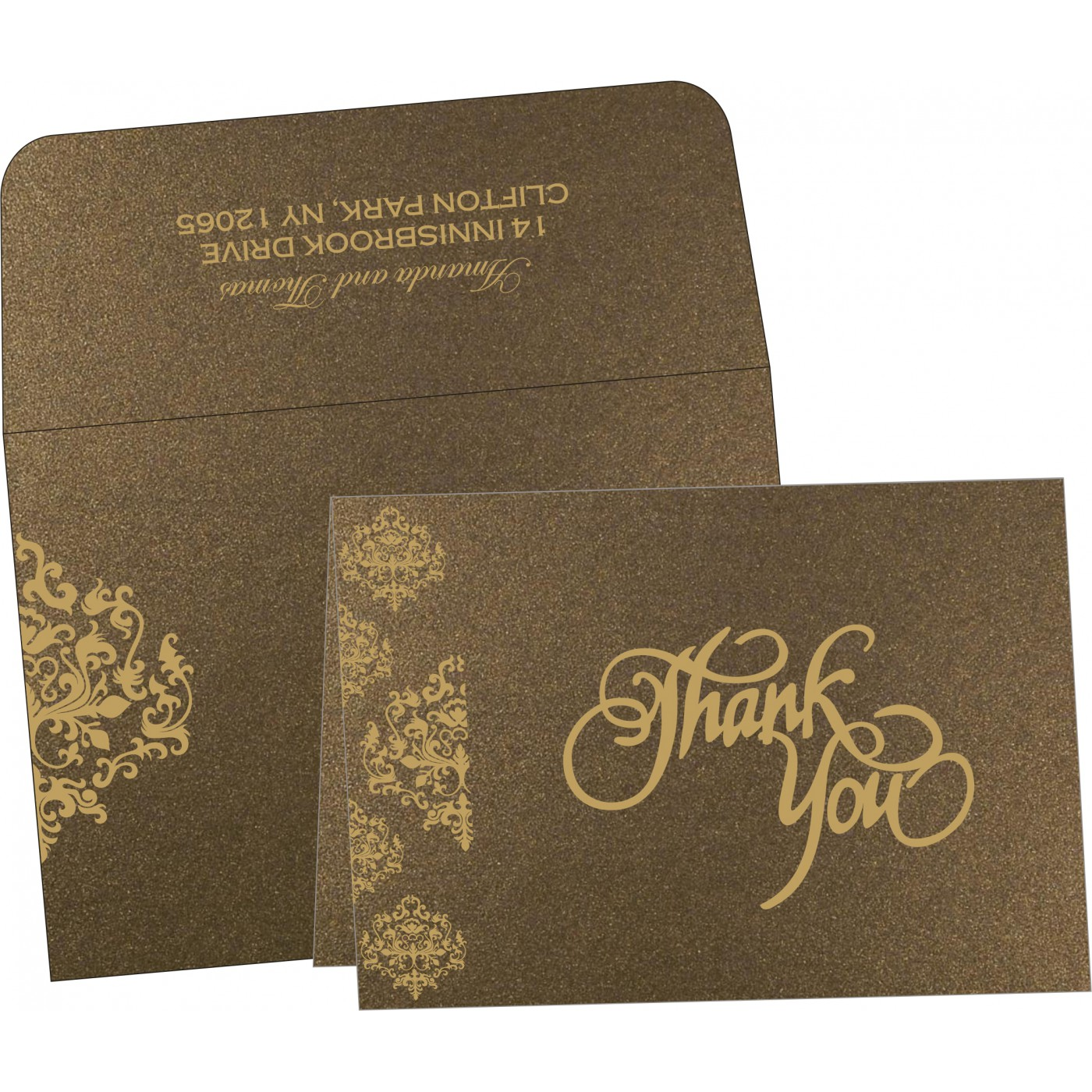 Thank You Cards - TYC-8254F