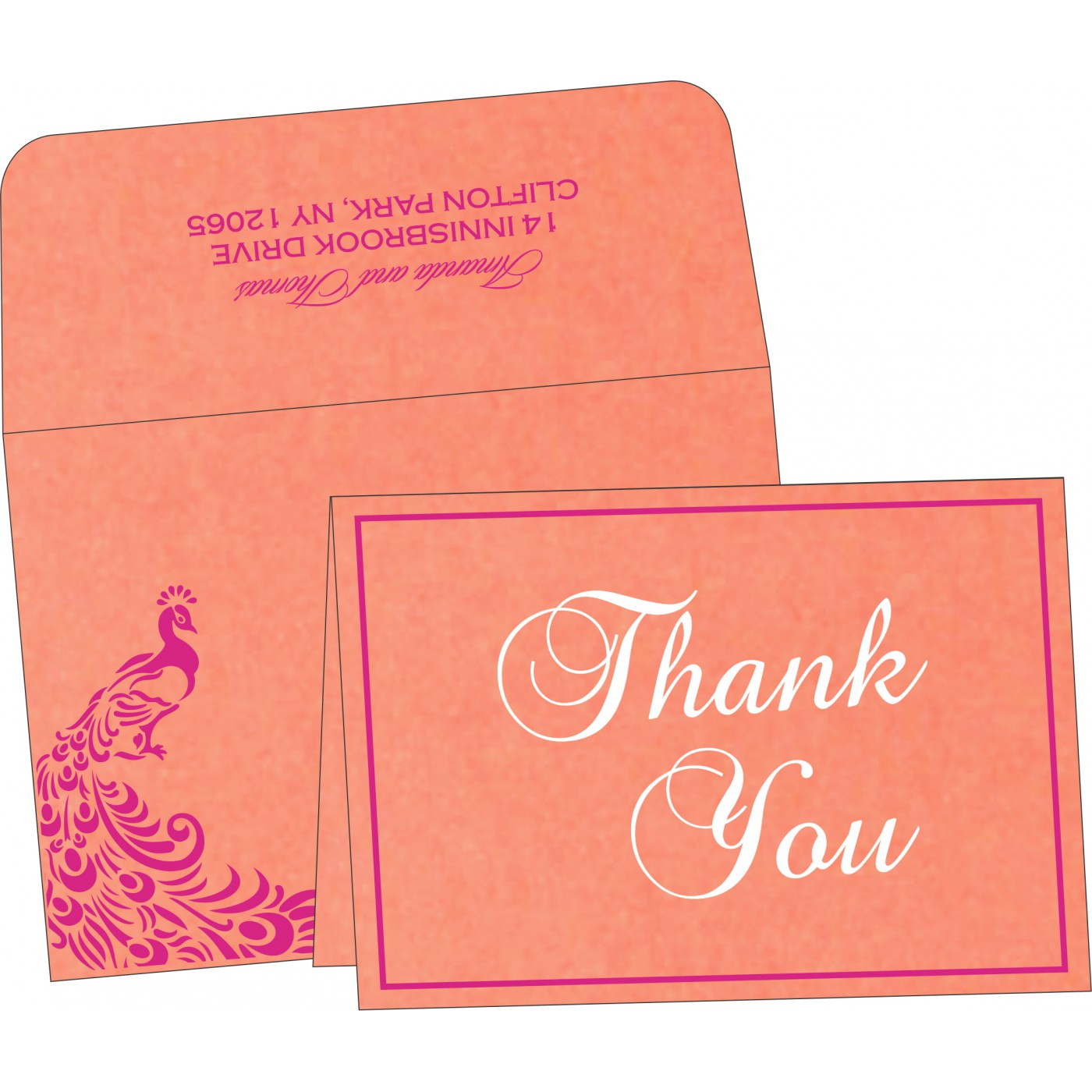 Thank You Cards - TYC-8255B
