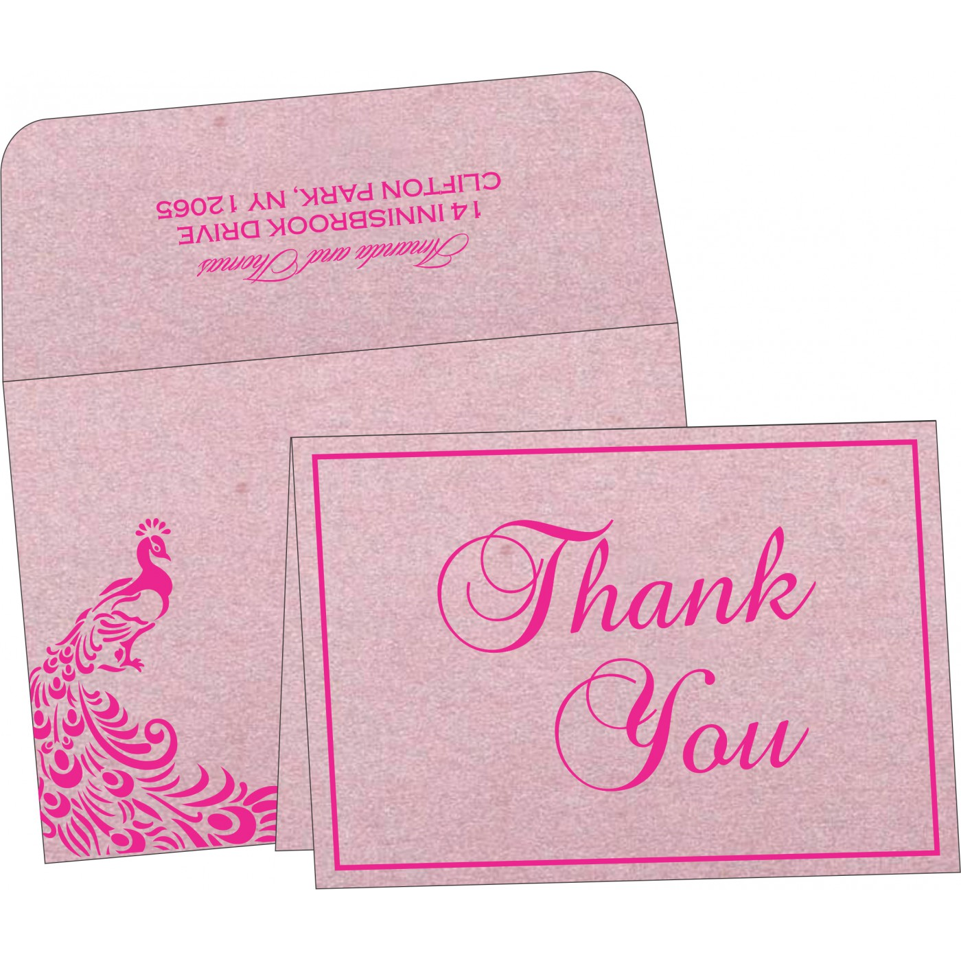 Thank You Cards - TYC-8255F